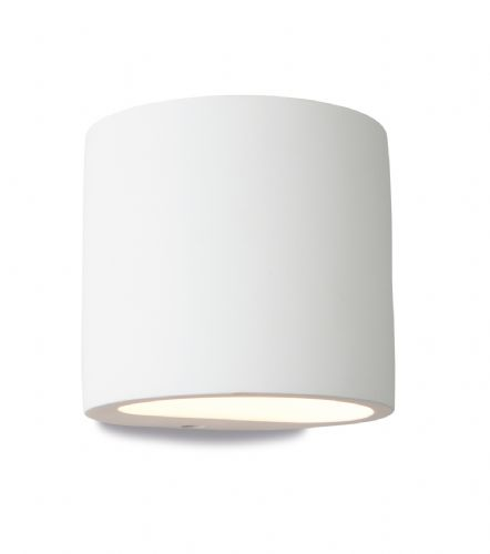 Firstlight 8321 White Nina Plaster Wall Light